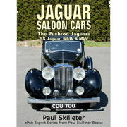 Jaguar Saloon Cars - The Pushrod Jaguars by Paul Skilleter [Kindle]